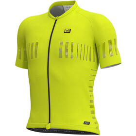 Alé Cycling R-EV1 Cooling SS Jersey Herre fluo yellow